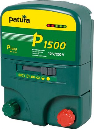 P 1500Energizer multifunzione per 230 V / 12 V