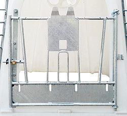 Porta a battente con Nuckeleimerhalter per capanne di vitello Ministar u. Logistar - 360125