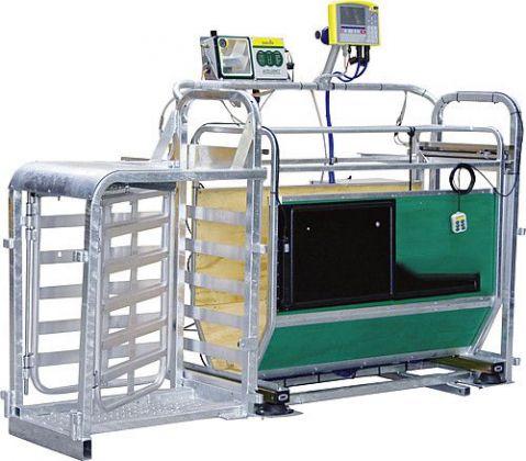 3-Wege-Wiege- und Sortierbox, Druckluftbetrieb, mit Zubehör