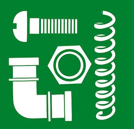 Kit di riparazione per il naso-paddle ciotola Mod. Compatto (qty 5) - 38011101