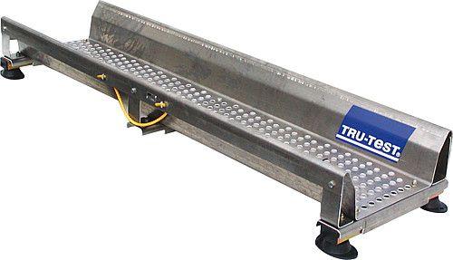 Alluminio piattaforma di pesata, 2230 x 610 x 250 mm