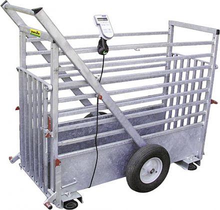 Peso di Cage, zincato a caldo, con ruote - 430311
