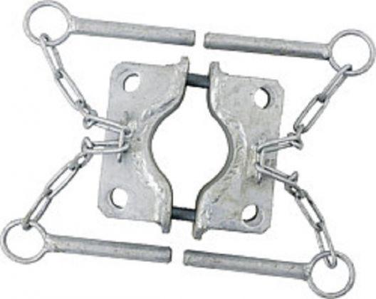 Schelle d=60 mm, 4 Halter - 303468