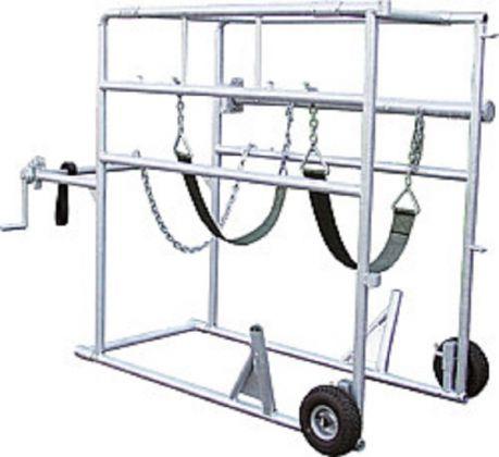 Klauenpflegestand Compact-Stall, vz, 2 Räder - 310004