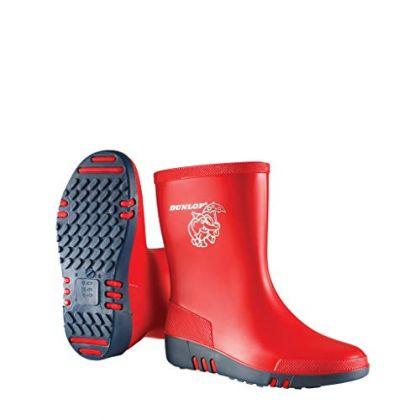 Stivali professionali Dunlop Mini per bambini colorati, Senza puntale in acciaio - K131514