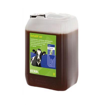 KerbaDip Iodio *  Disinfettante, spruzzo a base di iodio soluzioni per capezzoli