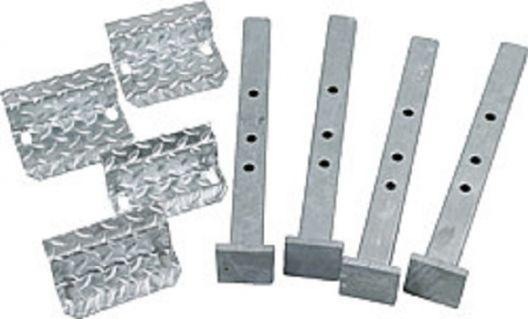 Piedi di montaggio per schiacciare una 5000, regolabili e piastre di montaggio per bar carico - 303009